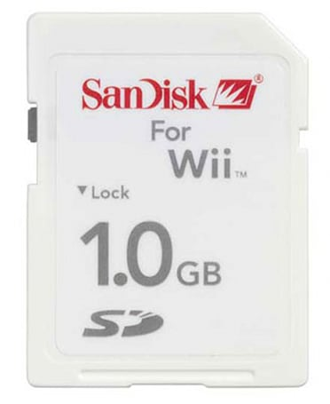 Nintendo announces Wii storage solution: SD cards