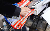 Of course there's a band with 3D-printed instruments at CES