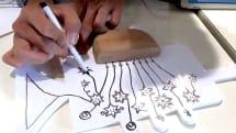 描いた絵が楽器になる「クラフトがっき」、iPhoneやiPad連携。導電性ペンで自由にお絵かき、最大4人でセッション可