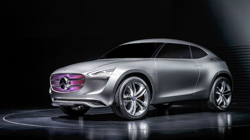 Mercedes-Benz' insane new SUV concept is a giant solar panel