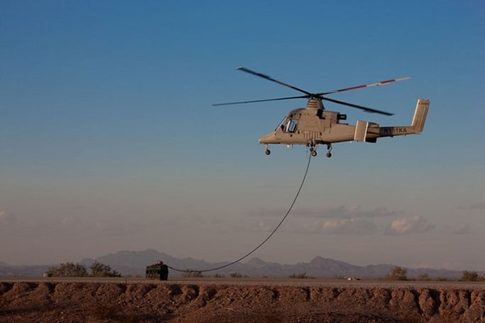 Lockheed Martin and Kaman's unmanned helicopter wins military contract (video)