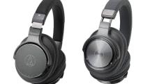 オーディオテクニカからフルデジタル再生無線ヘッドホンATH-DSR9BTなど2機種。aptX HDとUSB経由96kHz再生に対応