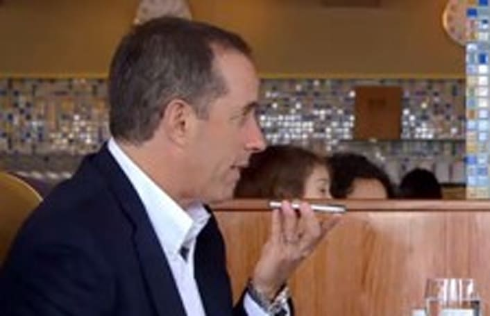 Jerry Seinfeld not a fan of iPhone cases