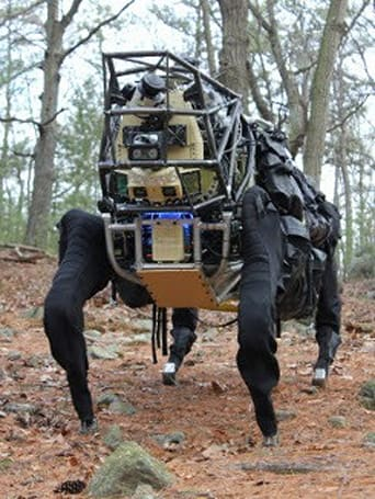 AlphaDog robo pack-mule begins outdoor trials, noisily hikes into your nightmares