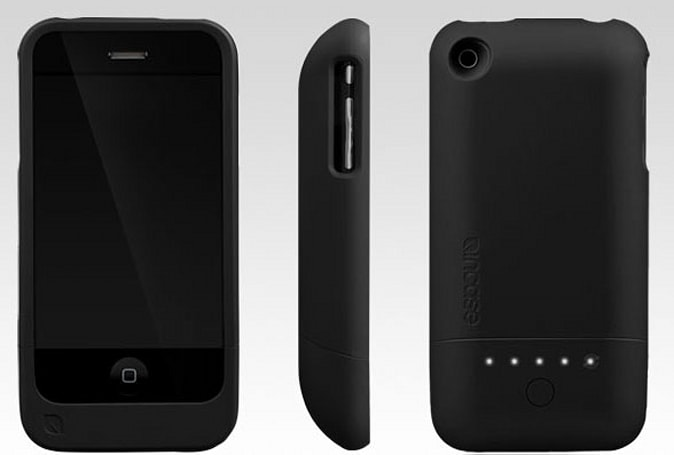 Incase Power Slider for iPhone 3G doubles the juice, lets you sync