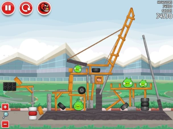 Angry Birds Heikki: because F1 and fort-breaking games are like peanut butter and chocolate