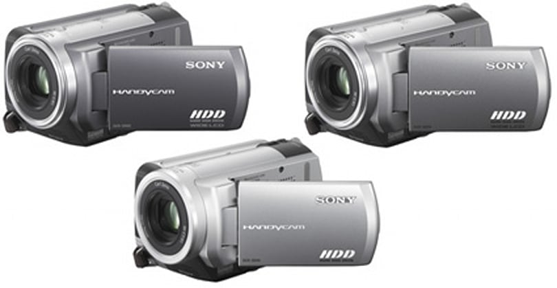 Sony's new Handycam DCR-SR80, DCR-SR60 and DCR-SR40 hard drive camcorders