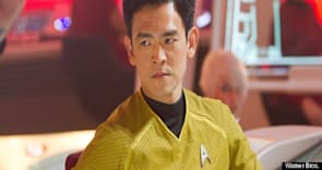 John Cho on 'Star Trek Into Darkness,' George Takei, and Whether He Took Something From Set