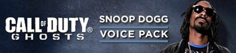 CoD: Ghosts DLC adds Snoop Dogg voice pack and other, less awesome, stuff