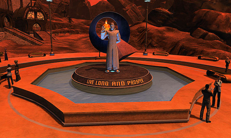 'Star Trek Online' honors Leonard Nimoy with in-game Spock statues