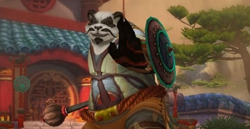 WoW player levels Pandaren to 60 without picking a faction