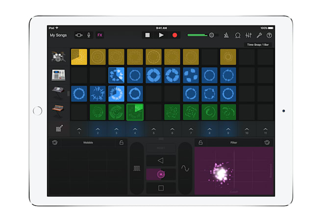 GarageBand for iOS makes creating music almost too easy