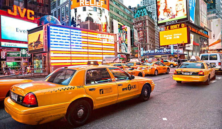 NYC cabs will test app-based system to challenge Uber