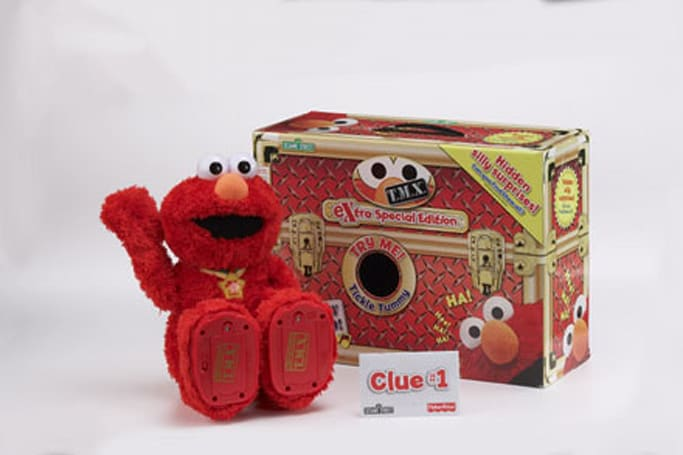 "Fisher-Price announces T.M.X. Elmo ""eXtra Special Edition"""