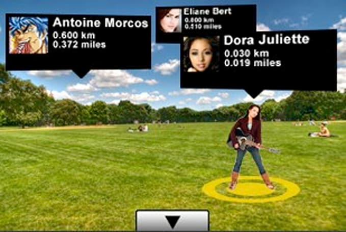 Augmented reality Twitter 360 app geolocates your friends by their tweets