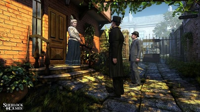 Test your detective skills with The Testament of Sherlock Holmes screens