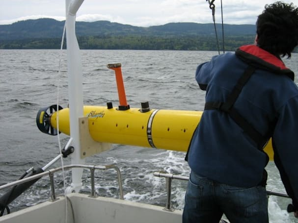 University of Victoria's Mano underwater robot to prowl Arctic waters for legendary ships