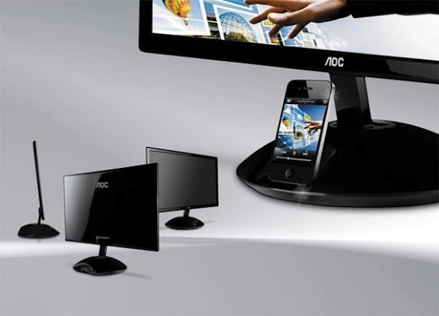 AOC's iPhone dock-packing Aire monitor landing in March for $280