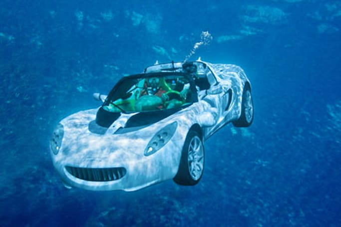 Rinspeed's sQuba becomes submersible, ridiculous reality