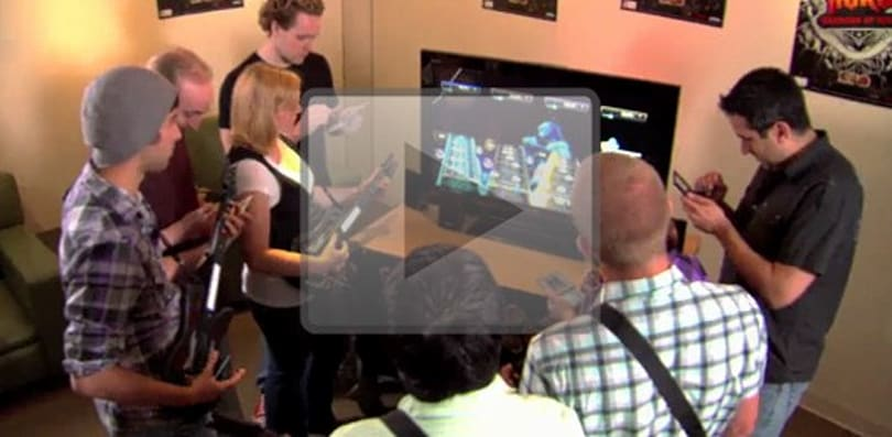 Guitar Hero: Warriors of Rock video highlights expanded DS/Wii connectivity