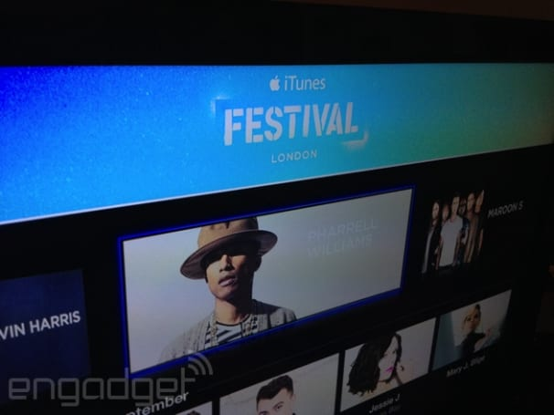 iTunes Festival app arrives on Apple TV for London's month of music