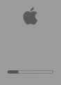 Why is there a progress bar when my Mac is starting up?