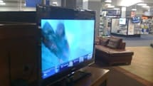 Samsung's B7100 LCD HDTV spotted at Best Buy