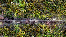 4400以上の銀河集まる超銀河団 、天の川の向こうに発見。幅3億8000万光年の巨大な「銀河の壁」を形成