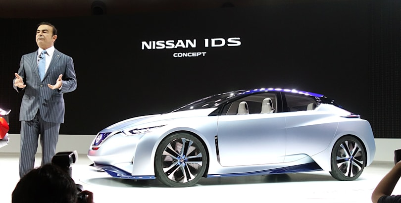Nissan's self-driving EV gives you restaurant recommendations too