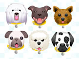 Dog emoji keyboard encourages you to adopt real pups