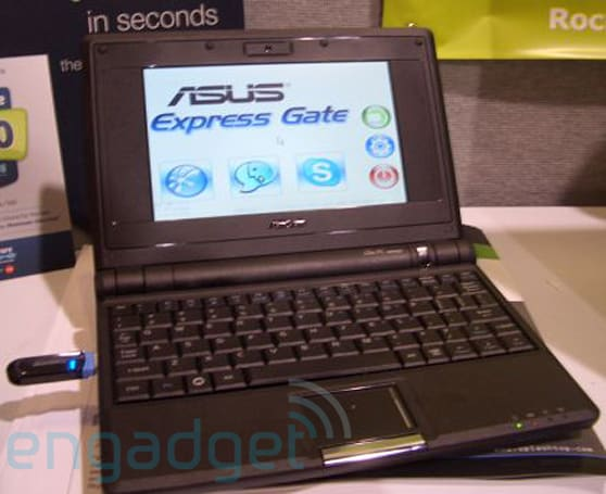Asus EeePC spotted running SplashTop instant-on OS