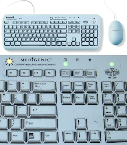 how to get the keyboard key off to clean