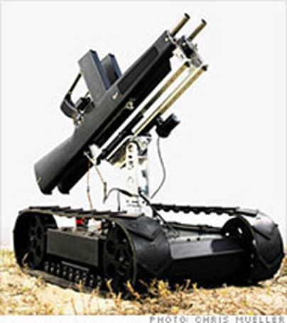 Robotex creating gun-toting robots to replace human soldiers