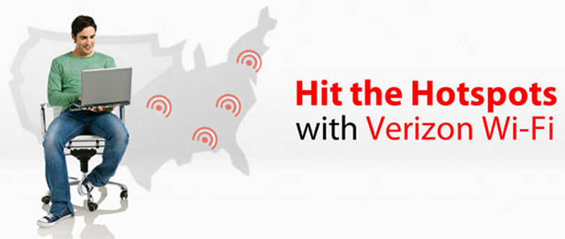 Verizon's mobile broadband customers get bundled WiFi access