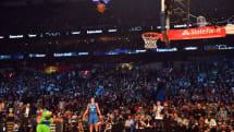 英特尔无人机为这次 NBA 灌篮大赛送出了一记助攻