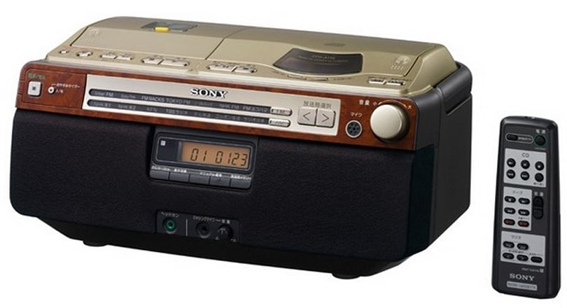Sony's last cassette-blastin' boom box is precisely how Ruff Ryders roll('d)