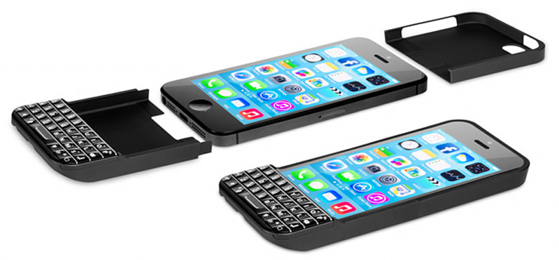 Ryan Seacrest's keyboard case turns your iPhone into a BlackBerry (video)