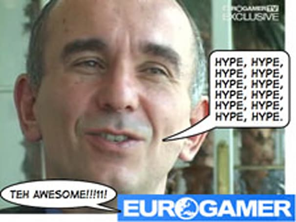 Hype begins and ends with the gaming press