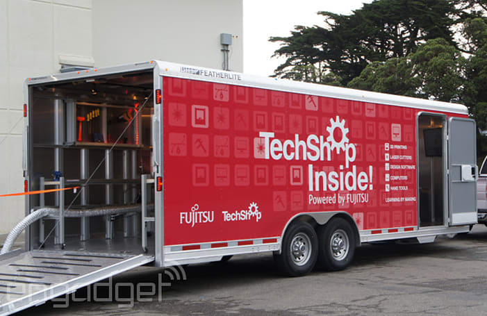 TechShop Inside is a modern shop class on wheels