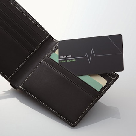 Elecom intros skim prevention kit for wallet, cellphone