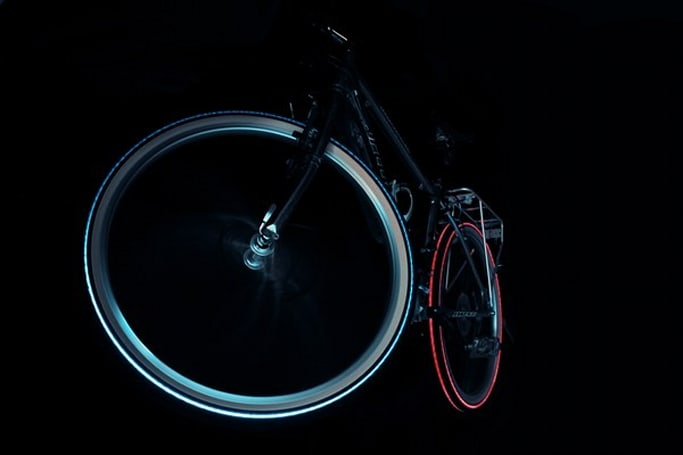 Cyglo Night Bright Tyres turn on the magic of colored light