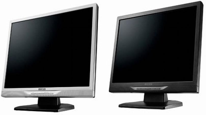 I-O Data unveils colorful 17- and 19-inch displays