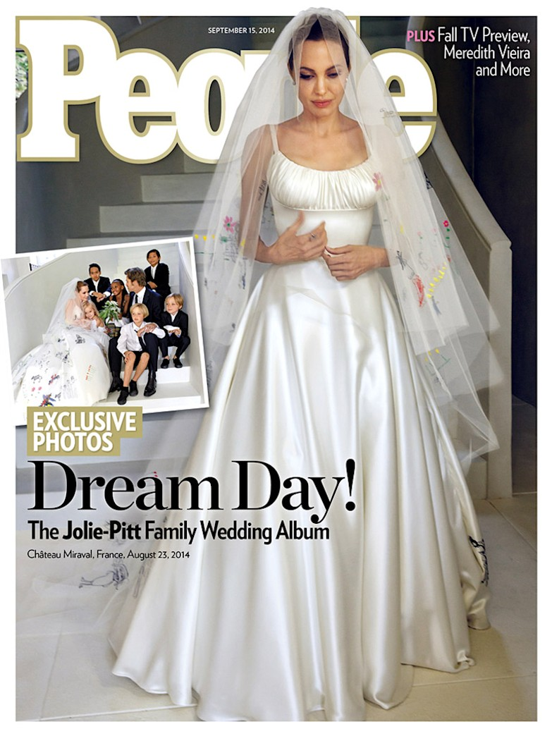 Top 9 at 9: Angelina Jolie's wedding dress, and more news