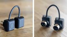 iOS 用の超小型無線MIDI インターフェイス mi.1 出資募集中、Bluetooth LE でMIDI 信号を送受信