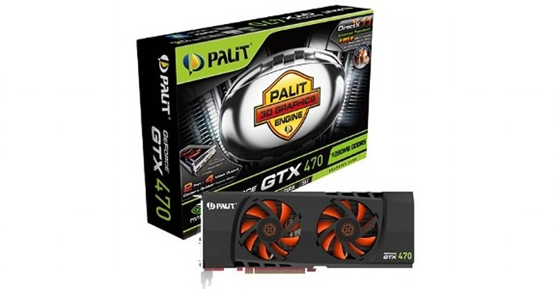 12 Days of Winter Veil Giveaway Day 11: Palit GTX 470 graphics card