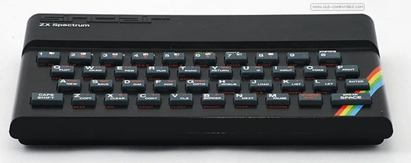 Sinclair ZX Spectrum turns 30, gets immortalized as a Google Doodle