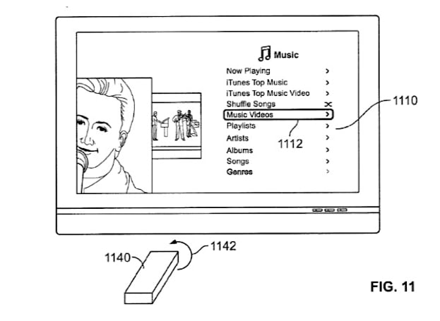 "Apple patent filing details possible ""remote wand"" for Apple TV, again"