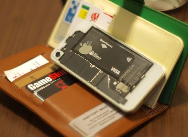 iPhone 4 gets upgraded for NFC payments the hard way