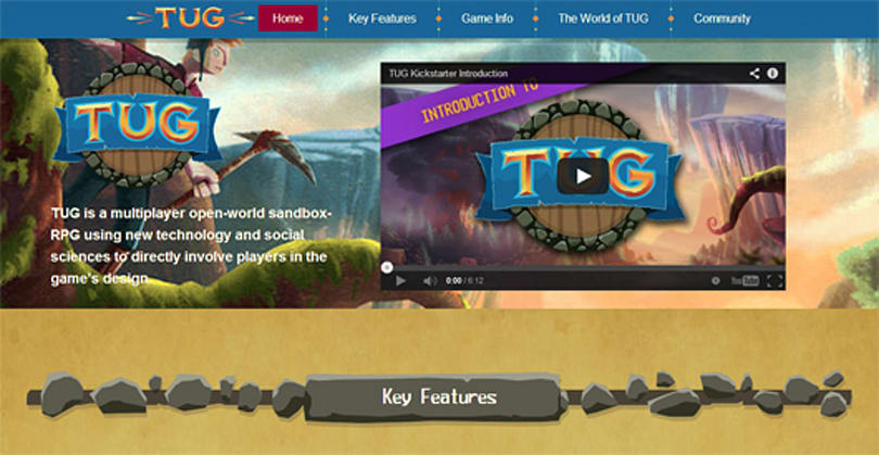 TUG gets a new website