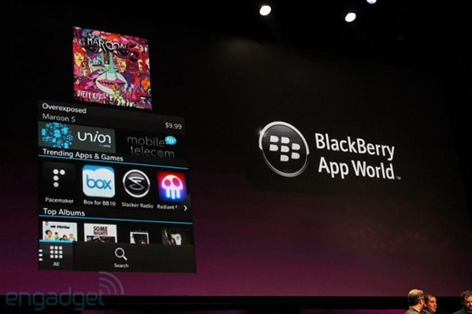 BlackBerry App World to sell music and movies, open to BB 10 app submissions on October 10th